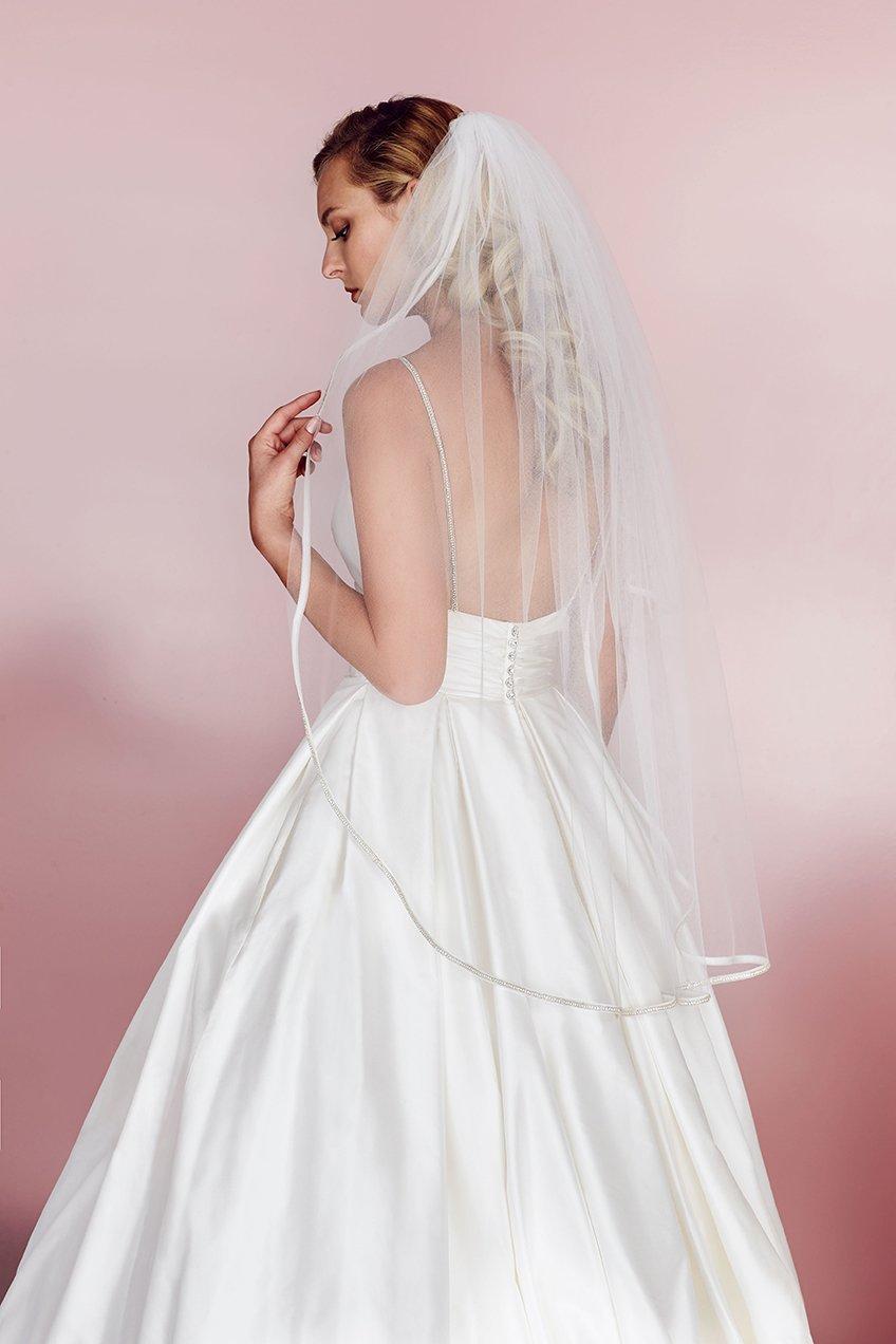 Ball Gown Wedding Dress veil | Paloma Blanca