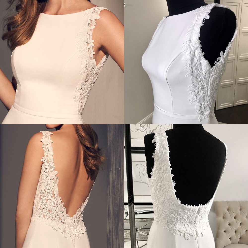 Can I Customize My Wedding Dress - Line Bodice