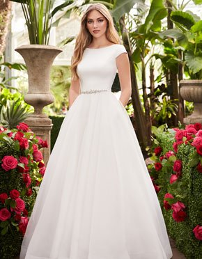 Mikaella What Do You Wear Under A Wedding Dress Invisible Bra Style 2253