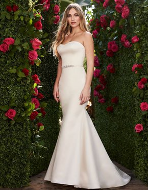Mikaella What Do You Wear Under A Wedding Dress Strapless Style 2267