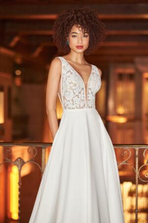 Soft Romantic Wedding Dress - Style #2358   Mikaella Bridal