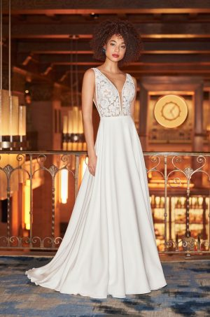 Soft Romantic Wedding Dress - Style #2358 | Mikaella Bridal
