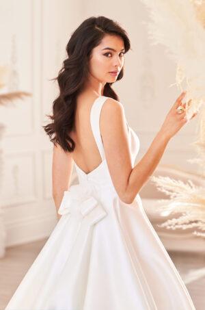 Mikado Ball Gown Wedding Dress - Style #4952 | Paloma Blanca