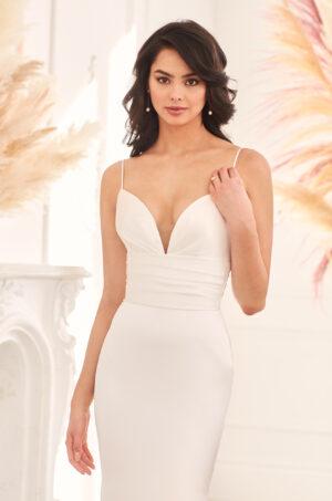 Flattering Satin Wedding Dress - Style #4953 | Paloma Blanca