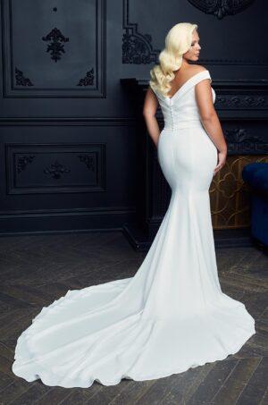 Elegant Neckline Wedding Dress - Style #4955 | Paloma Blanca