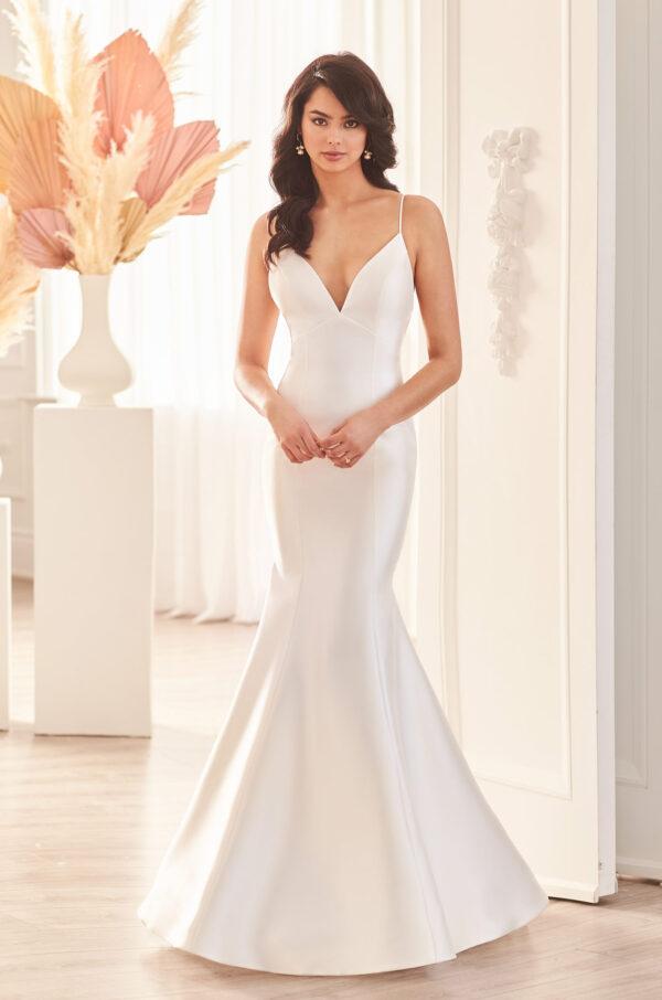 Flared Mikado Wedding Dress - Style #4960 | Paloma Blanca