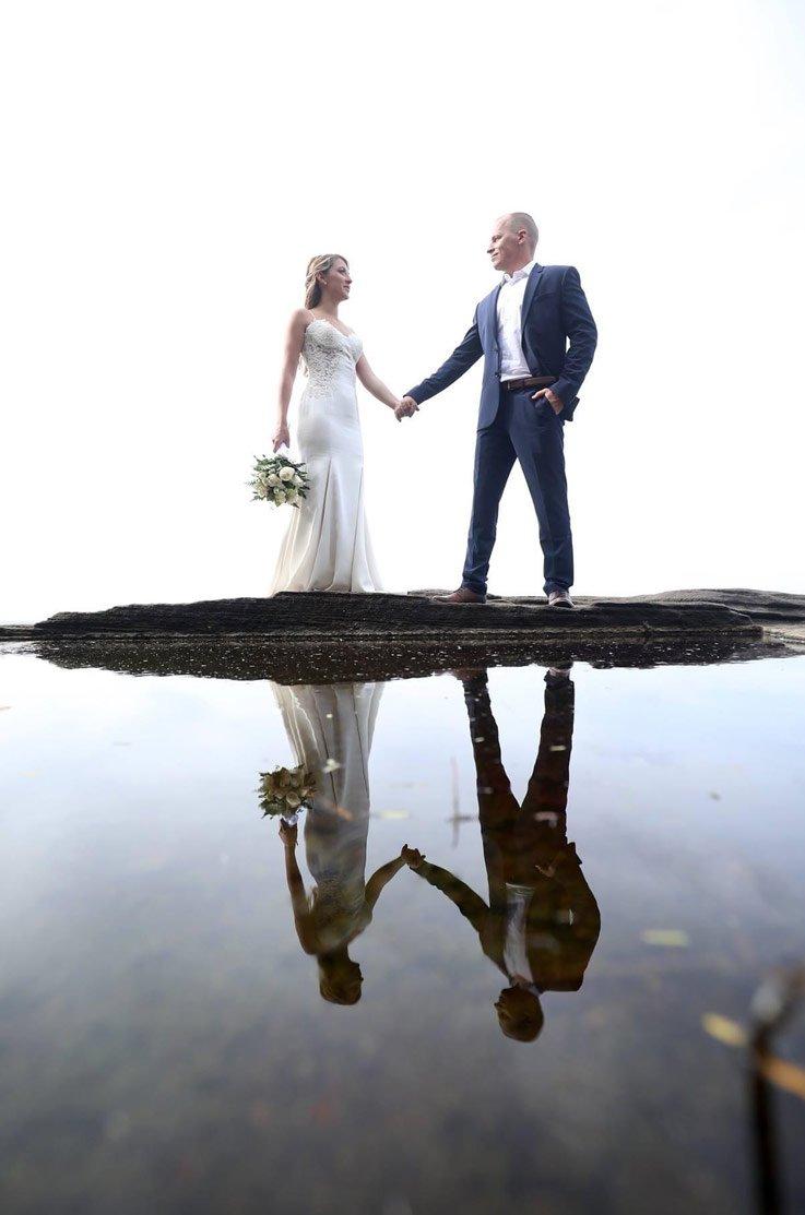 Real Bride Oahu, Hawaii – Alison & Patrick   Paloma Blanca