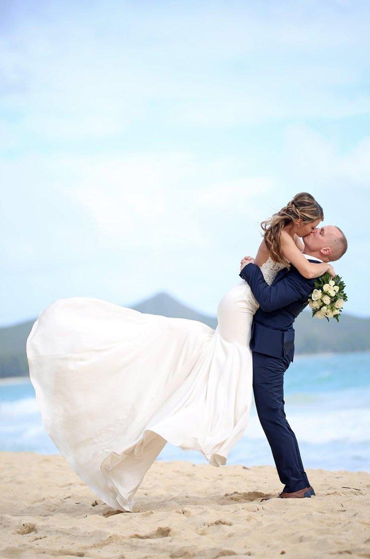 Real Bride Oahu, Hawaii – Alison & Patrick | Paloma Blanca