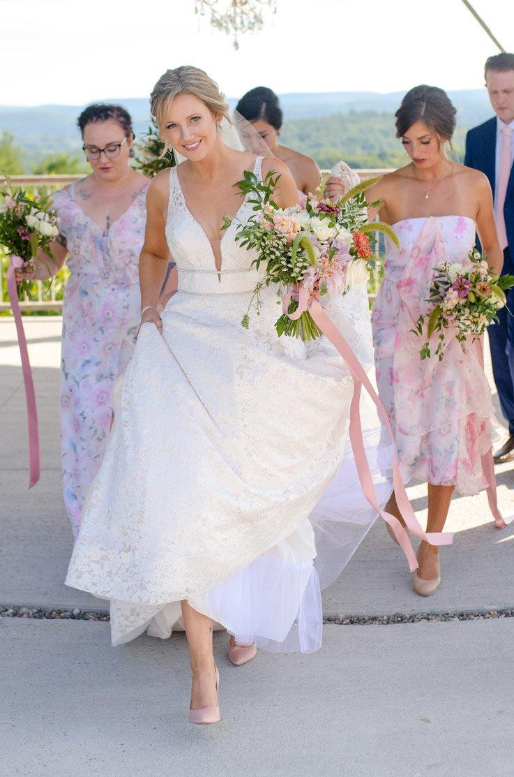 Real Bride Le Belvedere – Jeanette & Matt   Paloma Blanca
