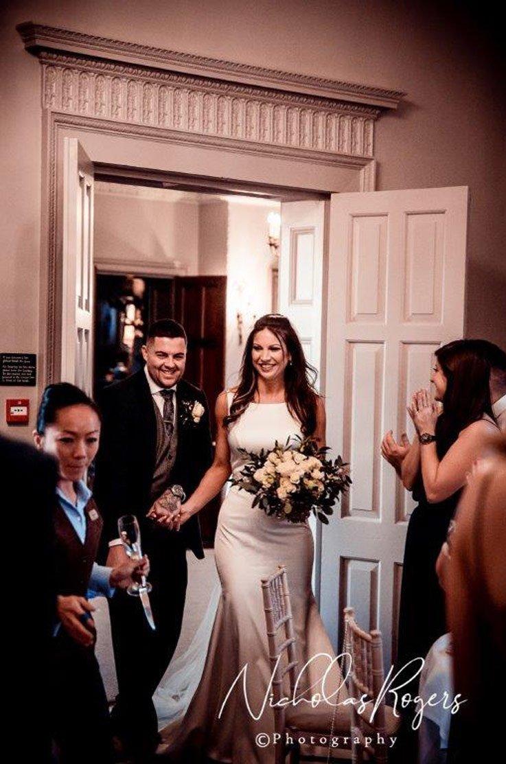 Real Bride The Elms – Jess & Dan   Paloma Blanca