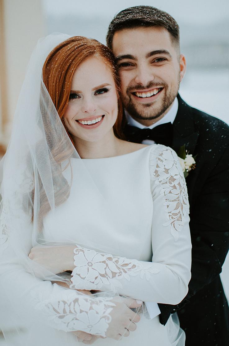 Real Bride Stillwater, Minnesota – Laura & Stefan | Mikaella Bridal