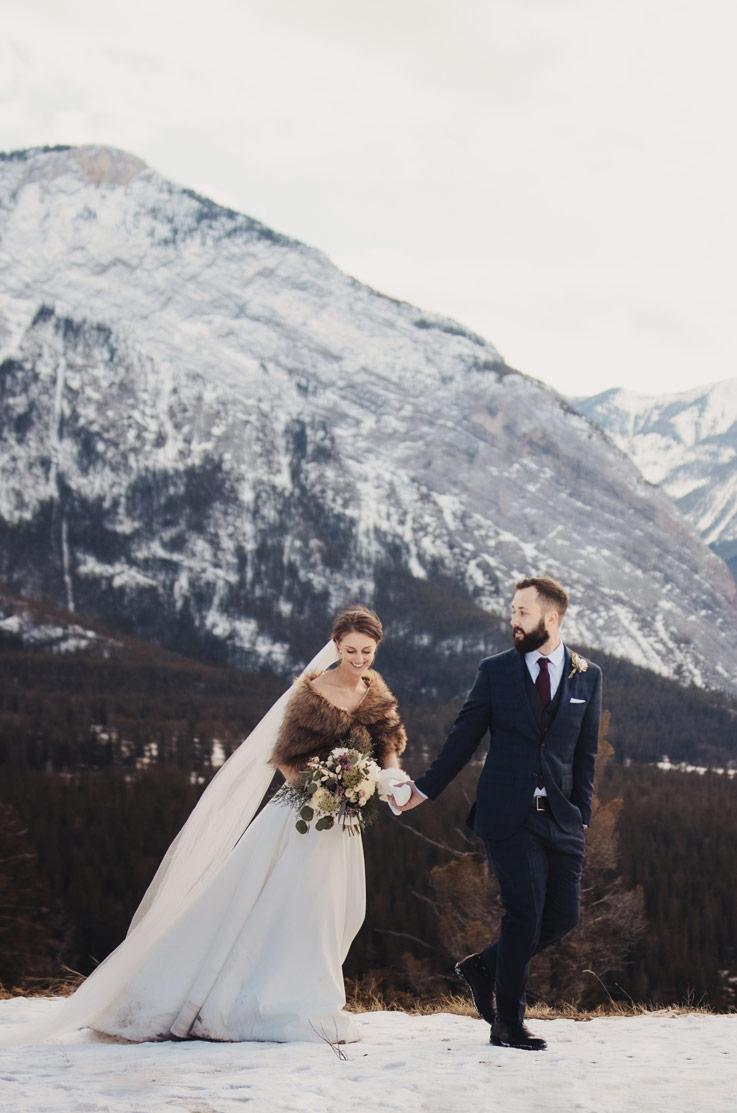 Real Bride Banff, Alberta, Canada – Shari & Chris | Paloma Blanca