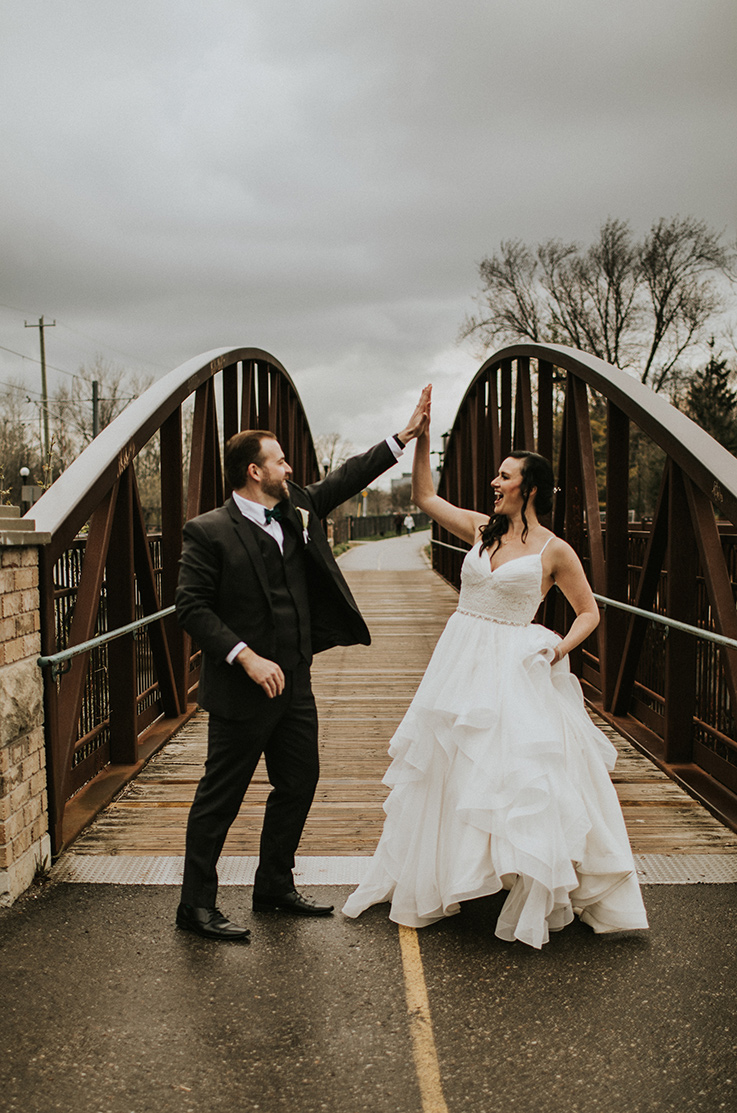Real Bride Waterloo, ON – Amy & Brian | Mikaella Bridal