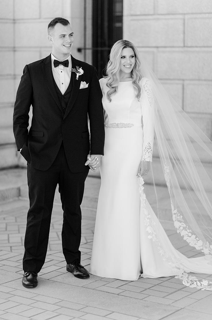 Real Bride St. Louis, MO – Amy & Robert | Mikaella Bridal