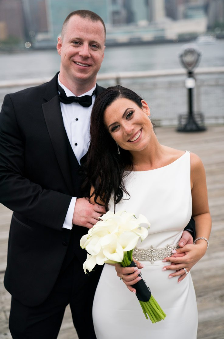 Real Bride Long Island City, NY – Ashley & John | Paloma Blanca