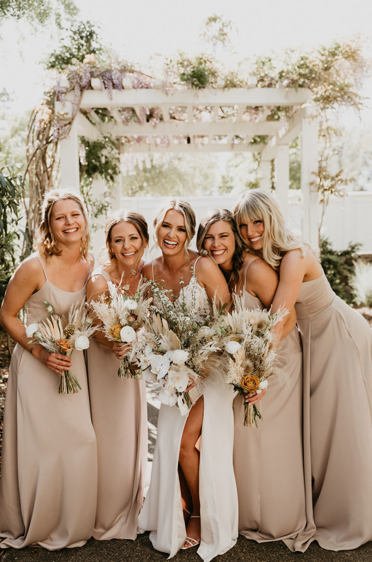 Real Bride Sonoma, California – Brittany & Derek   Paloma Blanca