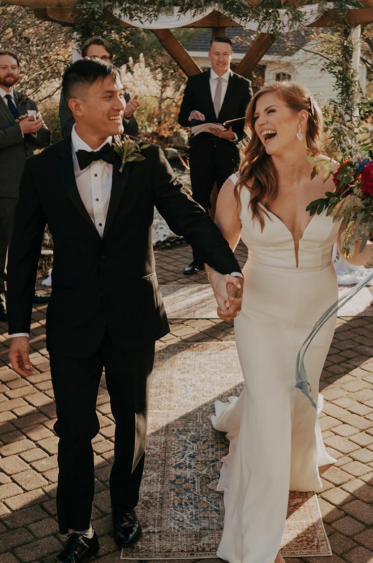 Real Bride Belle Meade, NJ – Cassie & Dan | Mikaella Bridal
