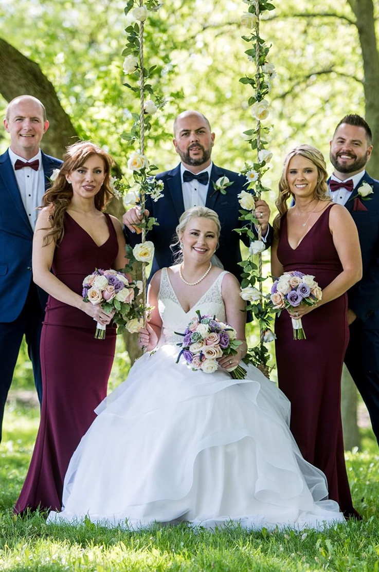 Real Bride Milton, ON – Dawn & James | Mikaella Bridal