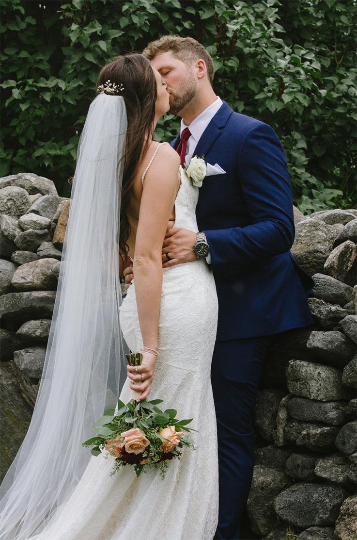 Real Bride Polmenna Barn – Heather & Jon   Mikaella Bridal