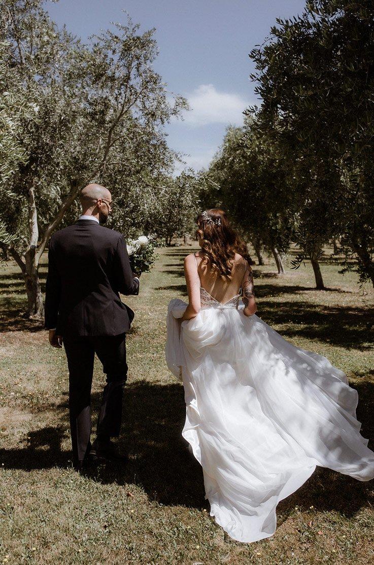 Real Bride Poppies Martinborough – Jess & Jon   Paloma Blanca