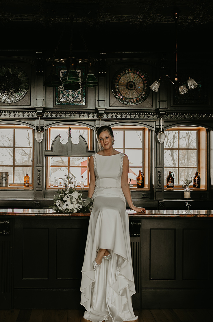 Real Bride Crooked Willow – Kelly & Zak | Mikaella Bridal