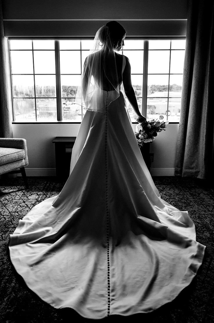 Real Bride Northbrook, Illinois - Kelsey & Tyler | Mikaella Bridal