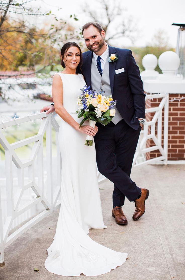 Real BrideSt. Charles, IL - Marin & Paul | Mikaella Bridal