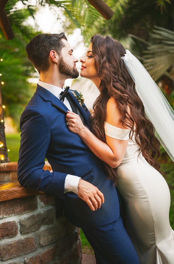 Real Bride Longan's Place – Nicole & Marc   Paloma Blanca