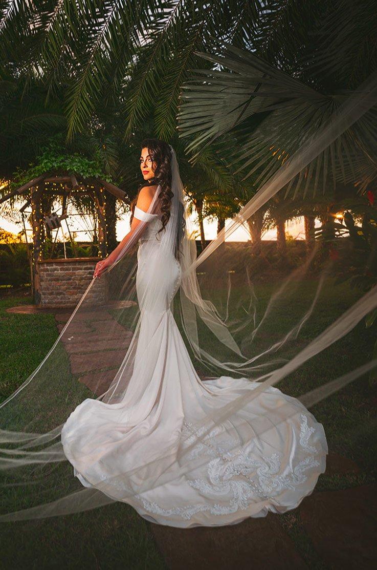 Real Bride Longan's Place – Nicole & Marc | Paloma Blanca