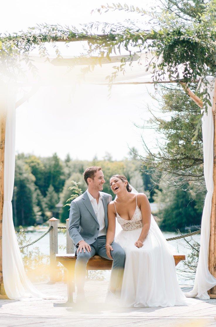 Real Bride Bala, Ontario – Rachel & David | Paloma Blanca