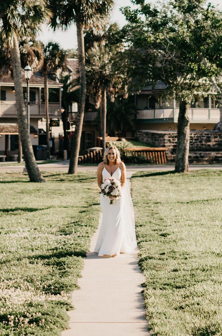 Real Bride Saint Augustine, Florida – Allie & Kyle | Mikaella Bridal