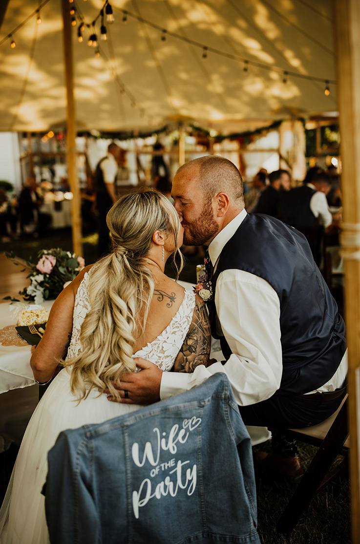 Real Bride Middlesex Yacht Club – Brittany & Josh | Mikaella Bridal
