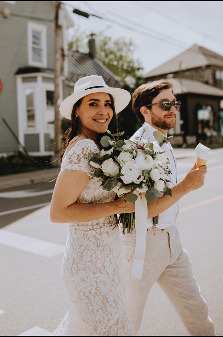 Real Bride Saint-Sauveur, Quebec – Chanel & Kevin | Mikaella Bridal
