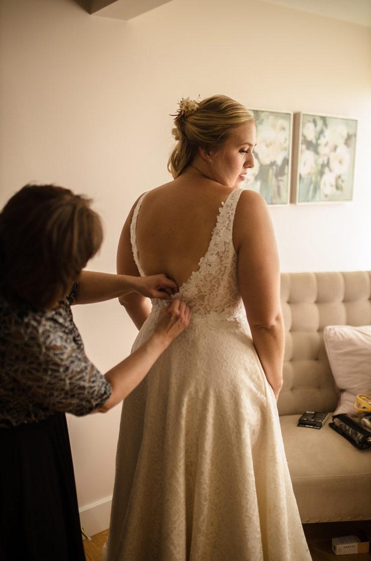 Real Bride Pinehall at Eisler Farm – Emily & Ben | Mikaella Bridal