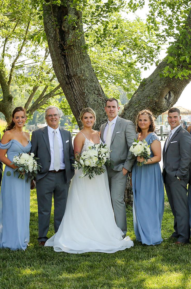 Real Bride Chestertown, MD – Hannah & Brian | Mikaella Bridal