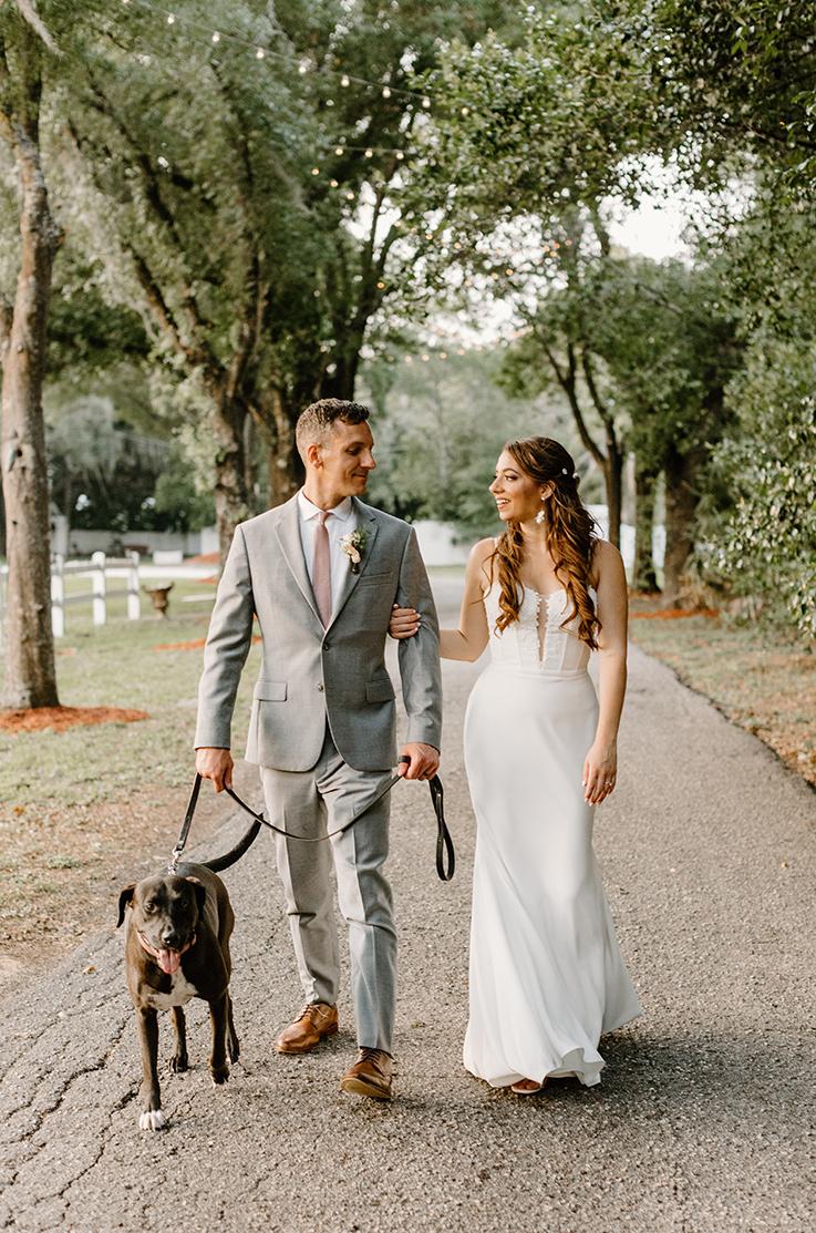 Real Bride Casa Lantana – Jennifer & Nate | Mikaella Bridal