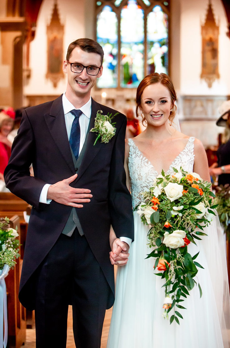 Real Bride Surrey, England – Katherine & Nicholas | Mikaella Bridal