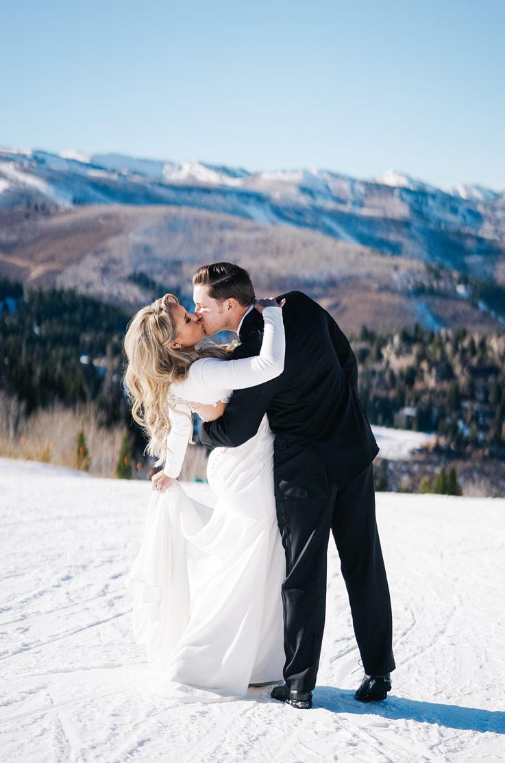 Real Bride Park City, Utah – Katie & Chris | Mikaella Bridal