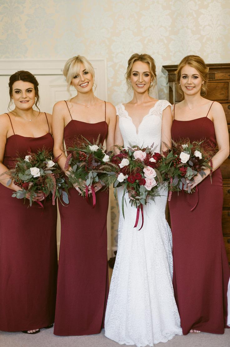 Real Bride Elsick House – Kelsey & Iain | Mikaella Bridal