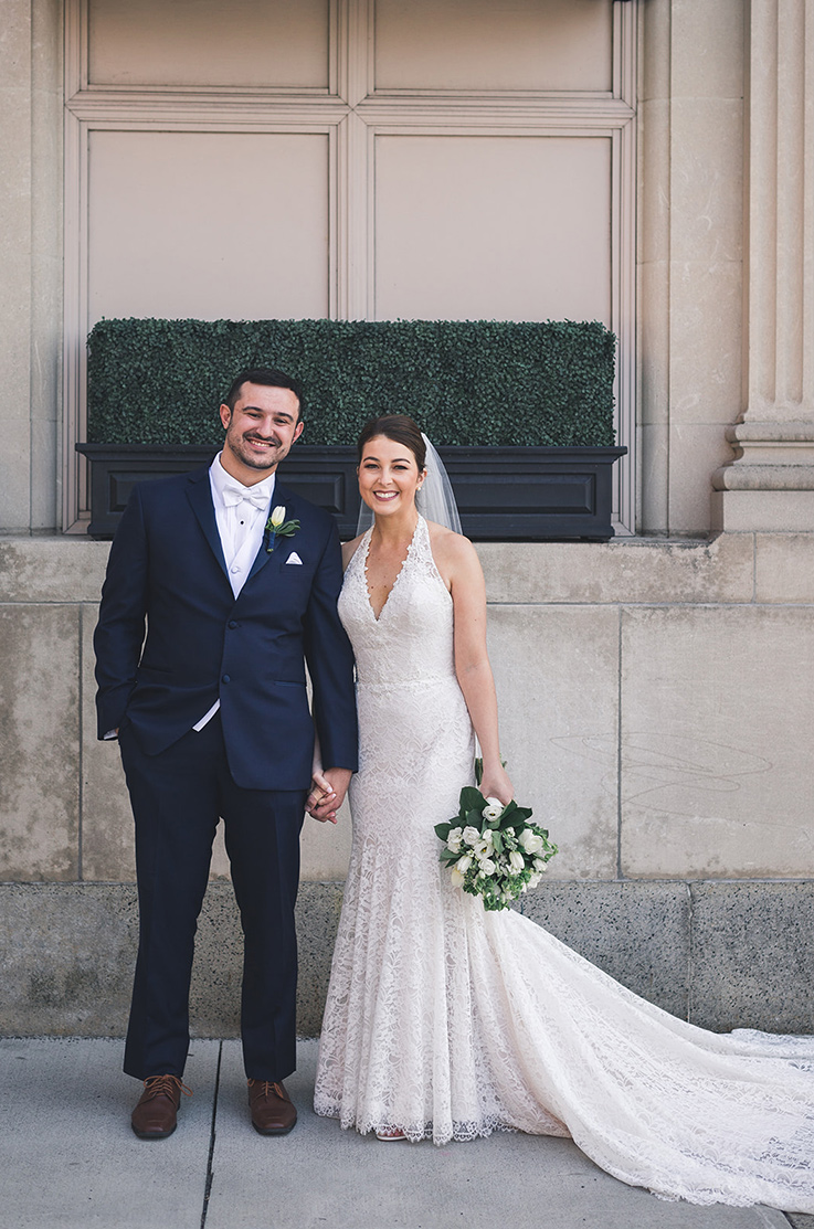 Real Bride Troy, NY – Lena & Michael   Mikaella Bridal