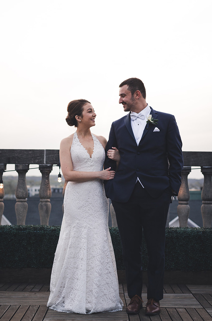 Real Bride Troy, NY – Lena & Michael | Mikaella Bridal