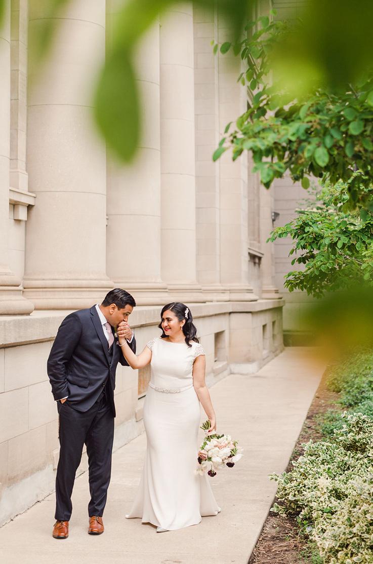 Real Bride Toronto – Sharon & Vishal | Paloma Blanca