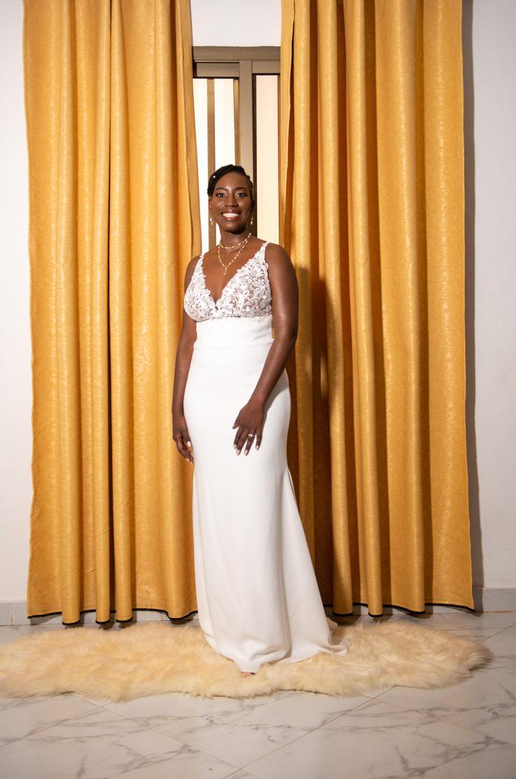 Real Bride Ouagadougou Burkina Faso – Shaza & Farid | Mikaella Bridal