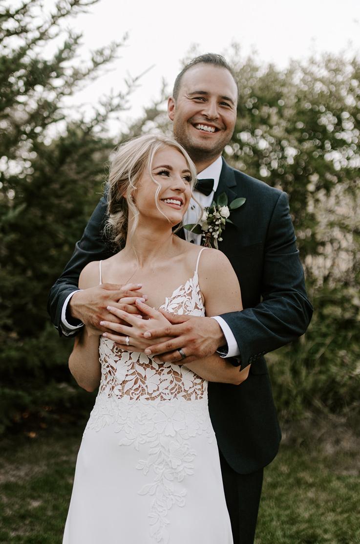 Real Bride Battleford, SK – Brittney & Jesse   Mikaella Bridal
