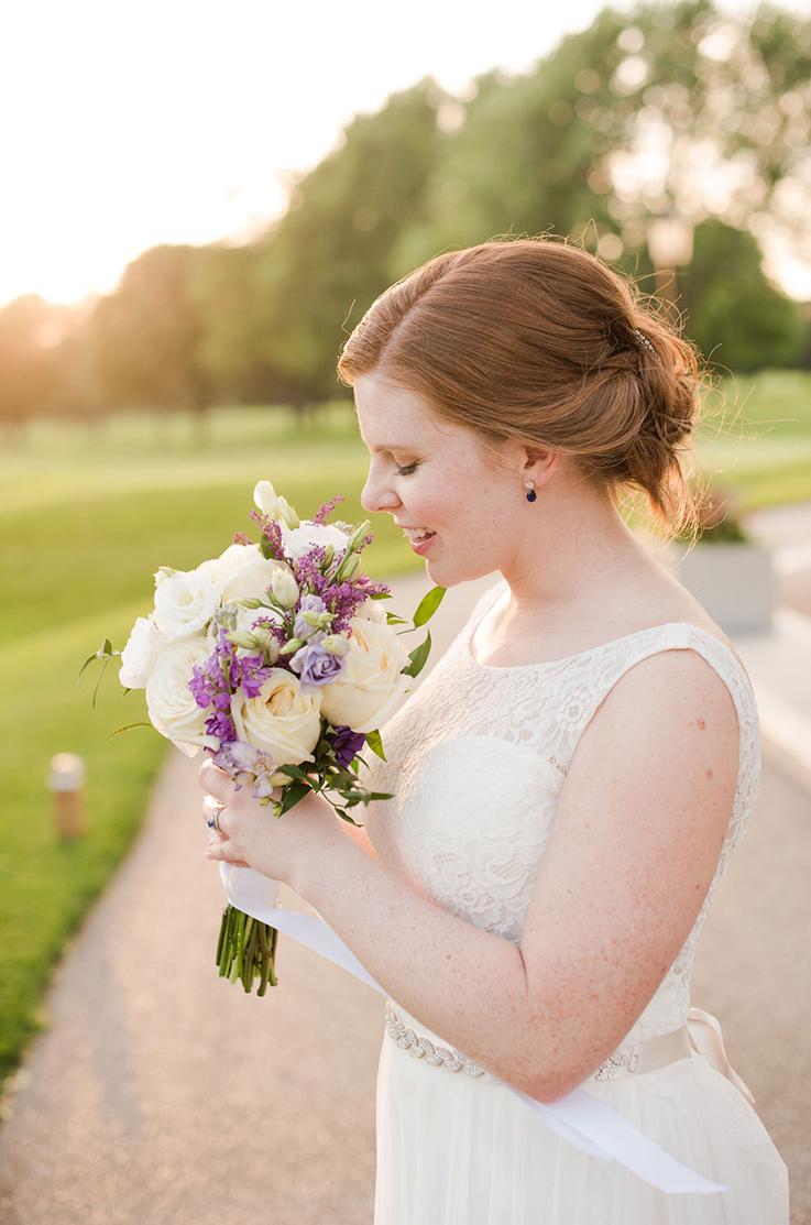 Real Bride Galt Country Club – Ellen & Hugh | Mikaella Bridal