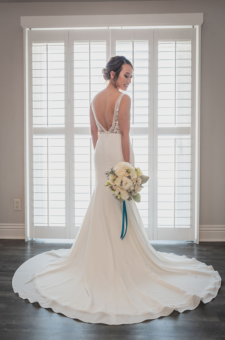 Real Bride Willow Heights Mansion – Gabby & Tom | Mikaella Bridal