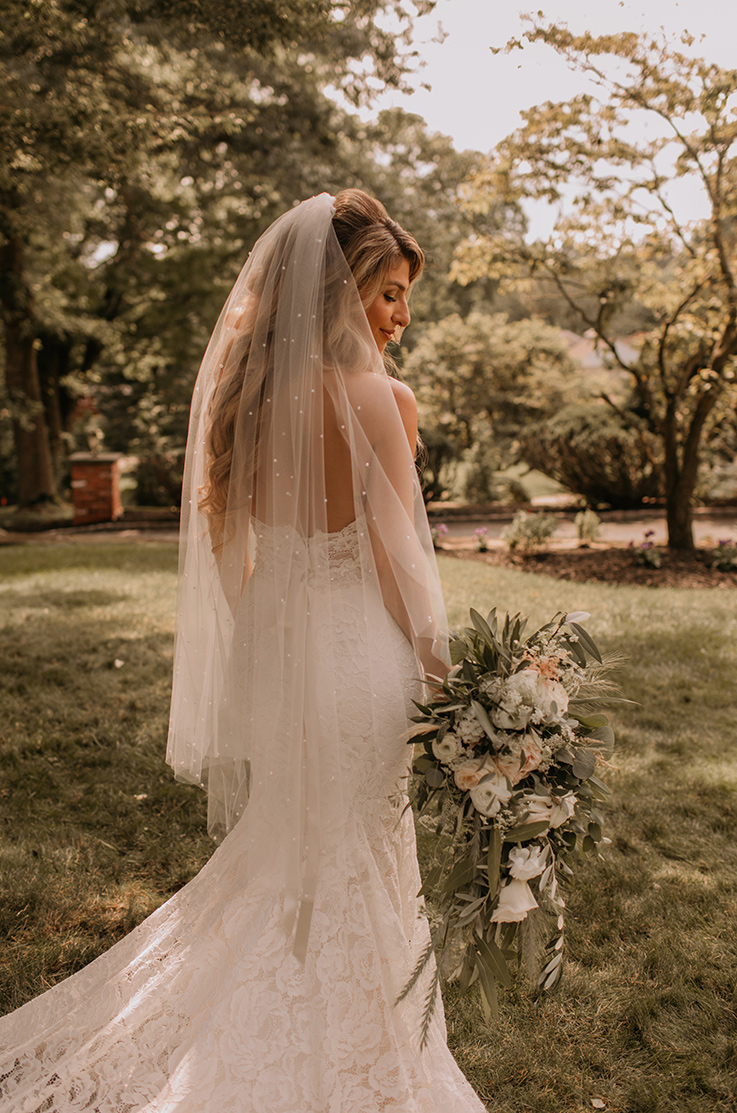 Real Bride Lambs Hill – Jennifer & Robert | Paloma Blanca