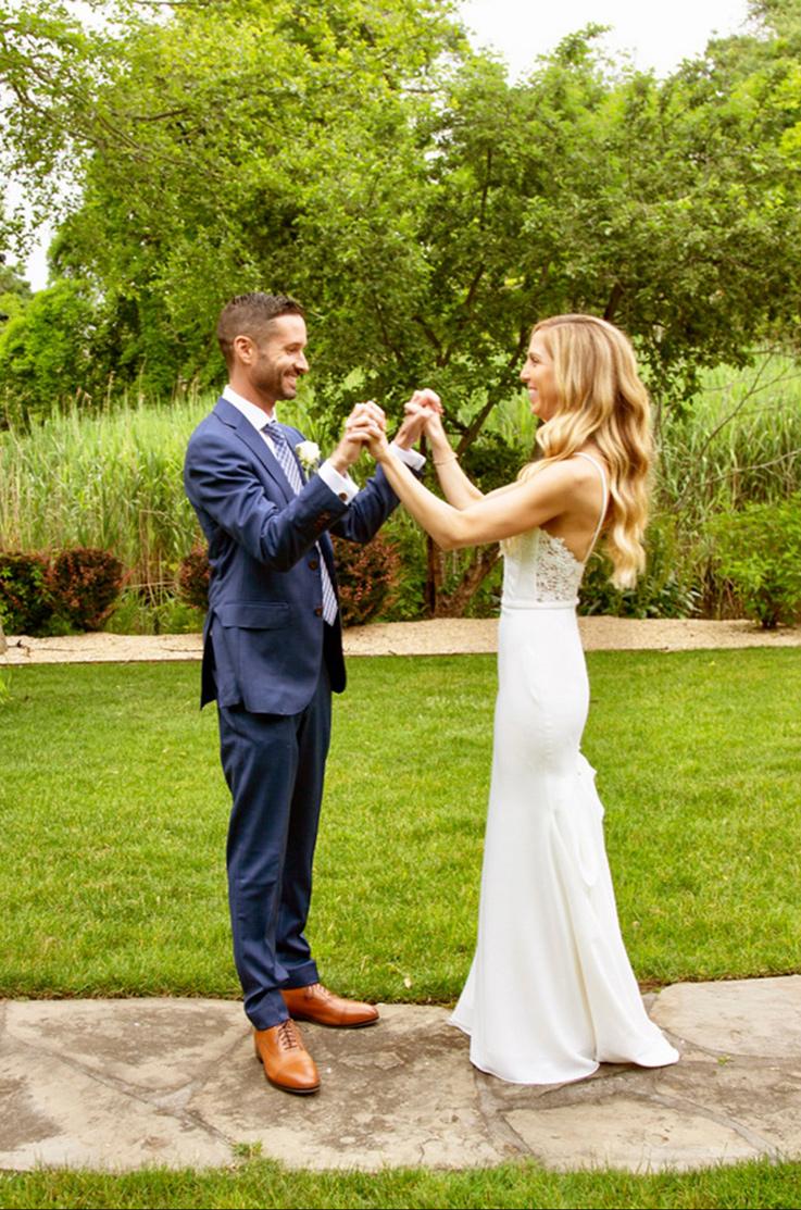 Real Bride Great River, New York – Paige & John | Mikaella Bridal