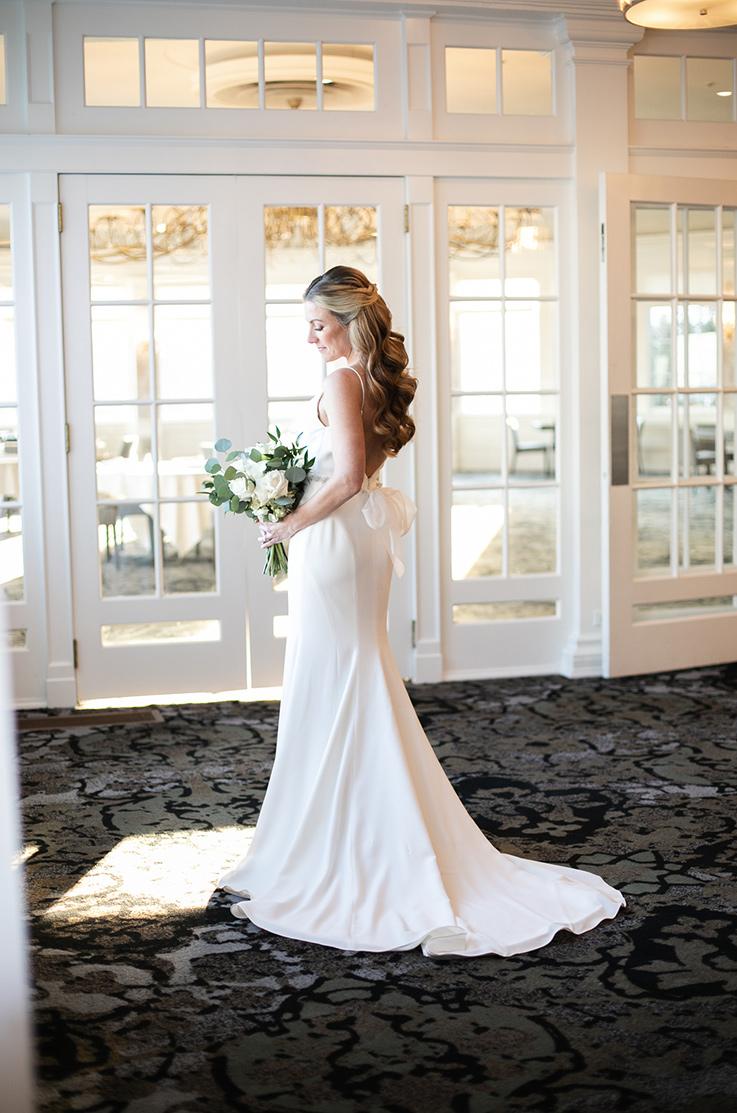 Real Bride Seaview Dolce Resort – Ryane & Jordan | Mikaella Bridal