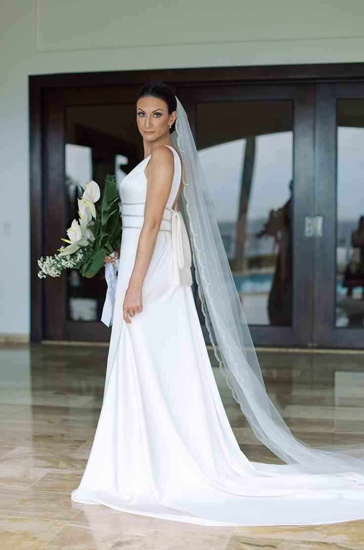 Real Bride Casa de Campo – Sara & Christopher | Paloma Blanca